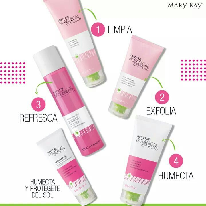 Botanical effects de Mary Kay