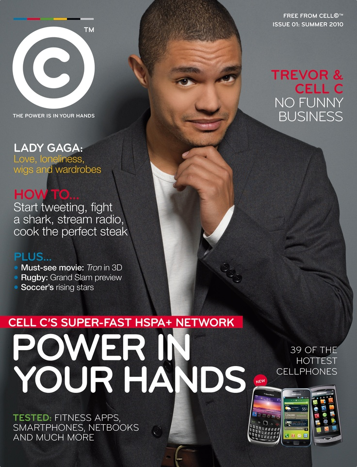 Cell C - Summer 2010  #MagazineCover