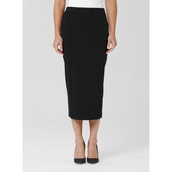 Mela Purdie Midi Skirt Longer than the Mid Double skirt , this tube skirt is practical and stylish with a good amount of coverage. Cut for a close fit, it features a comfortable elastic waist, balance yours with a loose knit or soft tailored shirt for a flattering silhouette.  #melapurdie  #redworks