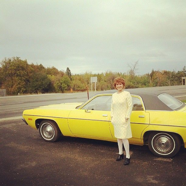 Me and the Plymouth.