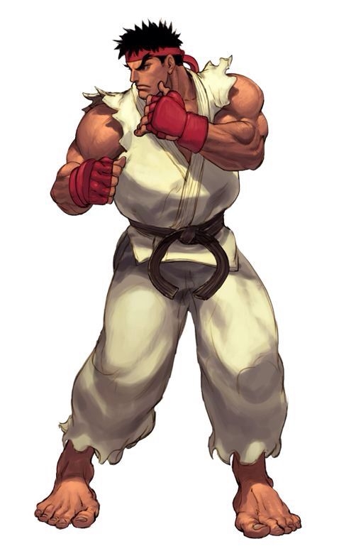 Ryu street fighter character
