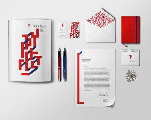 Typefest - Contoh Corporate Identity untuk Branding Bisnis