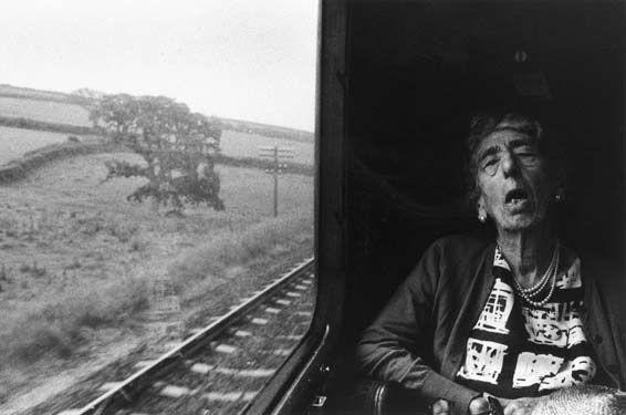 Tony Ray-Jones, Woman Asleep on a Train, 1967