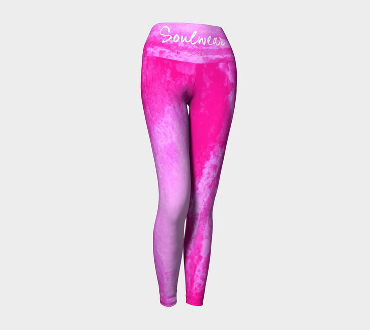 """Pink Pants"" Eco-friendly leggings with compression"