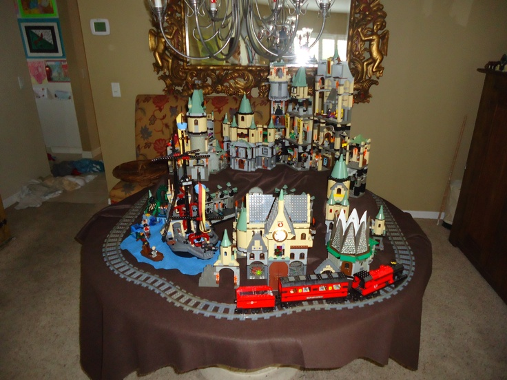 Harry potter lego recreation, Hogwarts