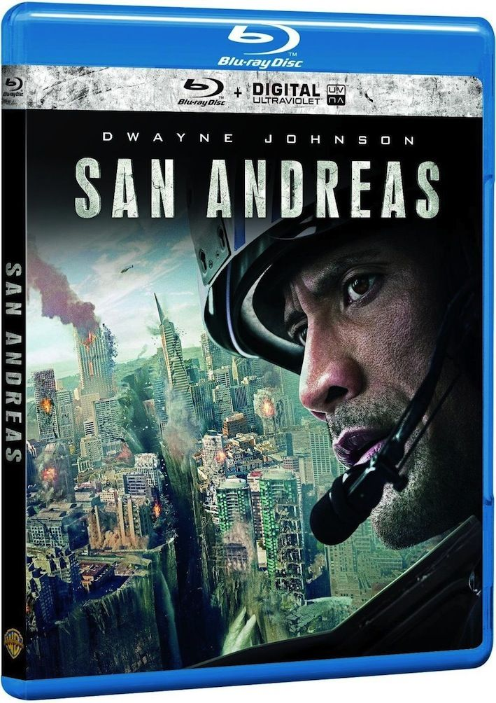Critique + Test Blu-ray de San Andreas avec Dwayne The Rock Johnson , disponible dans les bacs en DVD/BR depuis le 28 octobre via Warner Bros
