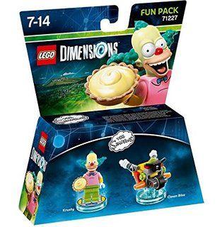 Figurine 'Lego Dimensions' - Krusty le Clown - Les Simpson : Pack Aventure