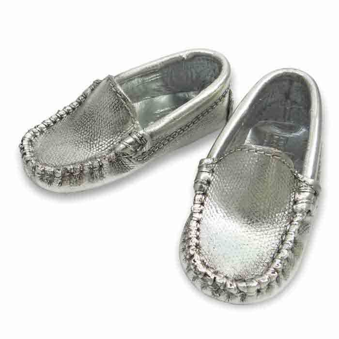 """The blue tiny little shoes after we """"put on"""" their new """"coat"""" silver metal shoe! Your baby's first shoe... by www.shine4ever.gr"""