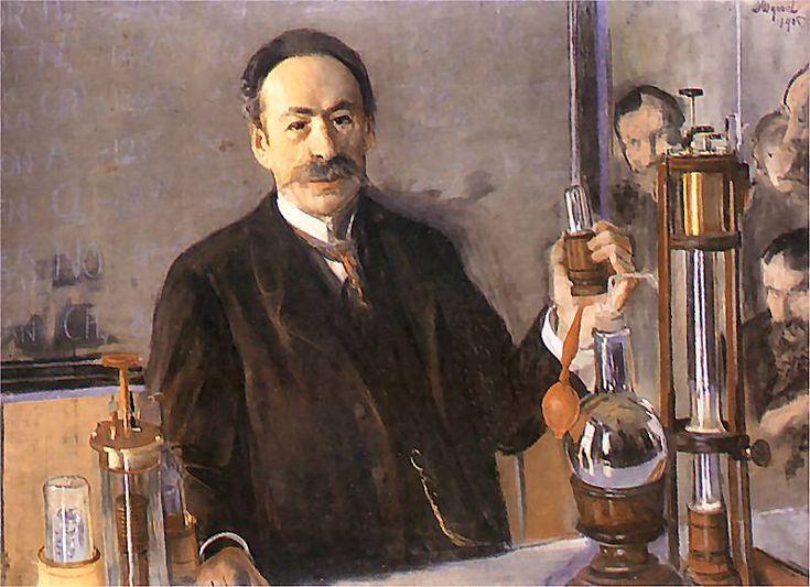 Leon Wyczółkowski - Portrait of Professor Karol Olszewski.