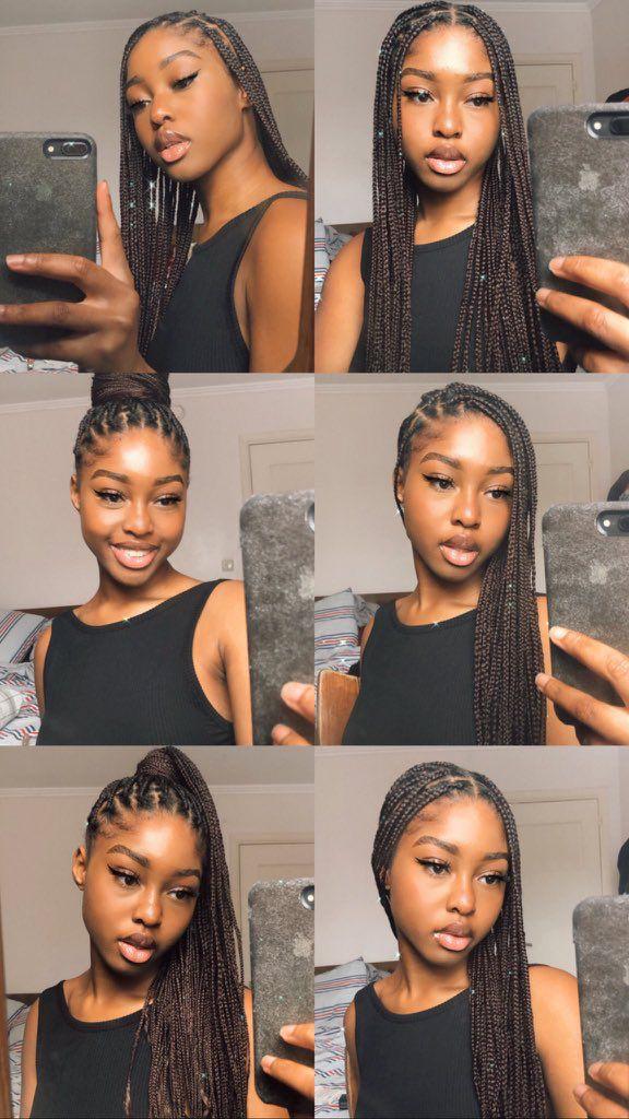New Video 20 Ways To Style Box Braids Braided Hairstyles Updo Box Braids Hairstyles African Braids Hairstyles