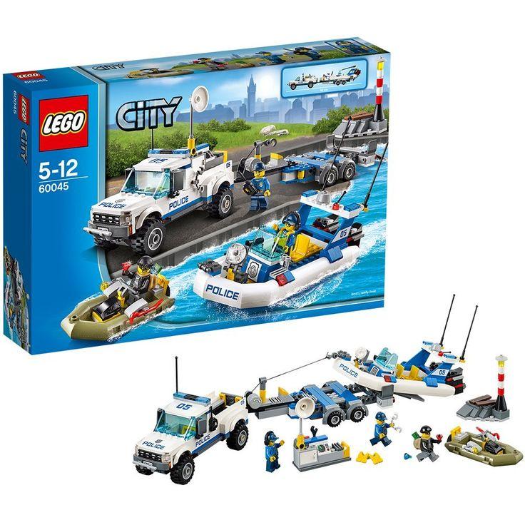 LEGO City Police 60045: Police Patrol: Amazon.co.uk: Toys & Games