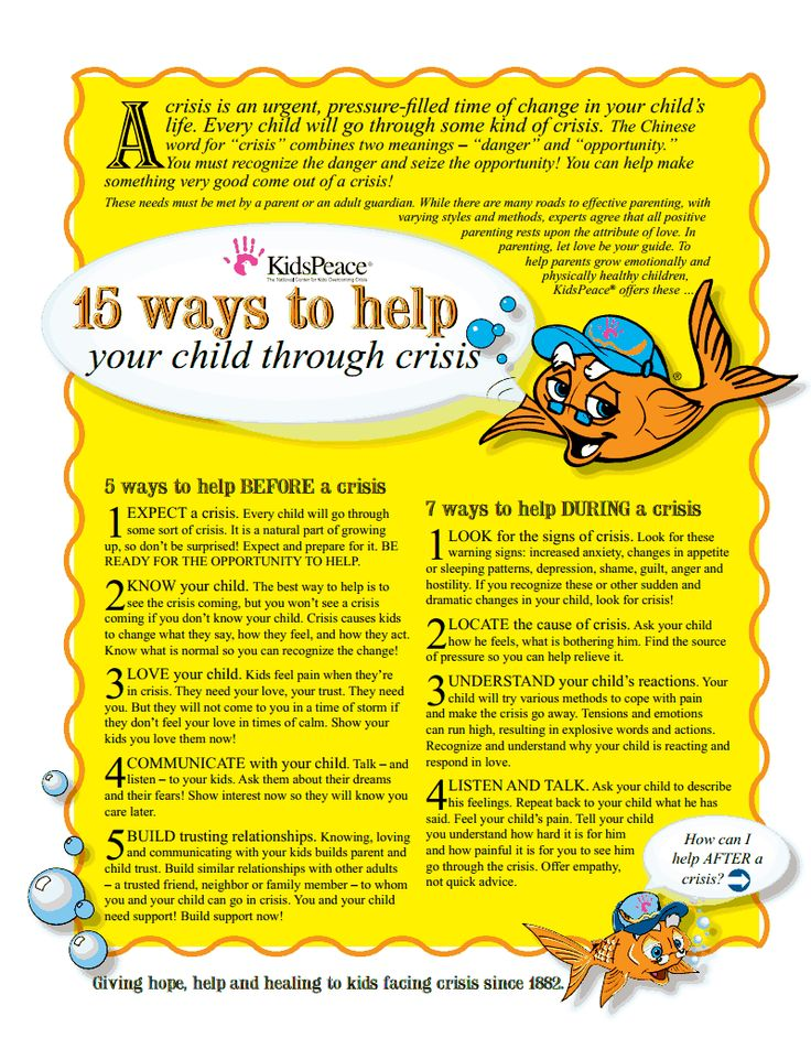 Helping Your Child Through A Crisis Found At Sitesgoogle