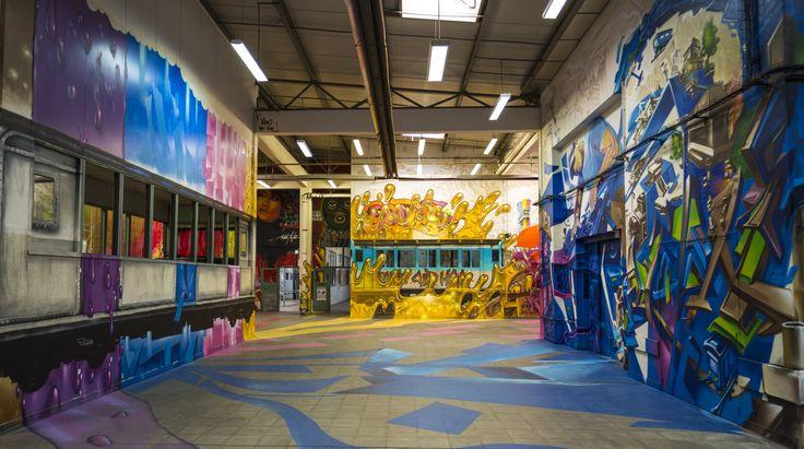 Photo prise par Corentin Bomstein pour #lincisif Expo face au mur #PHH15 #Graff #Art