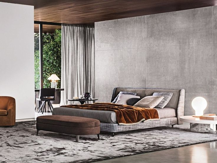 BED SPENCER BED | MINOTTI