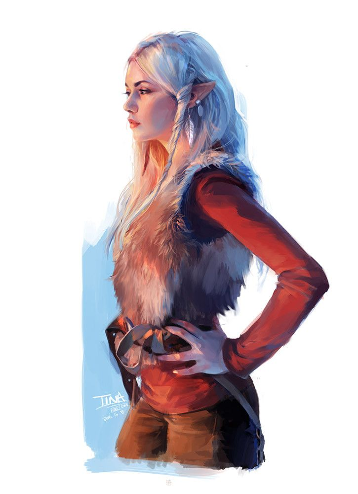 Elf, Tina Wong on ArtStation at https://www.artstation.com/artwork/YbQLP