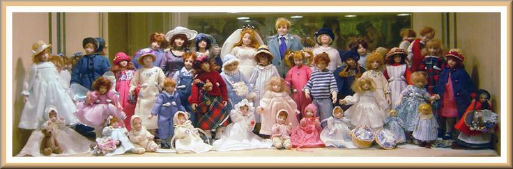 Amazing collection of dolls by Catriona Hall