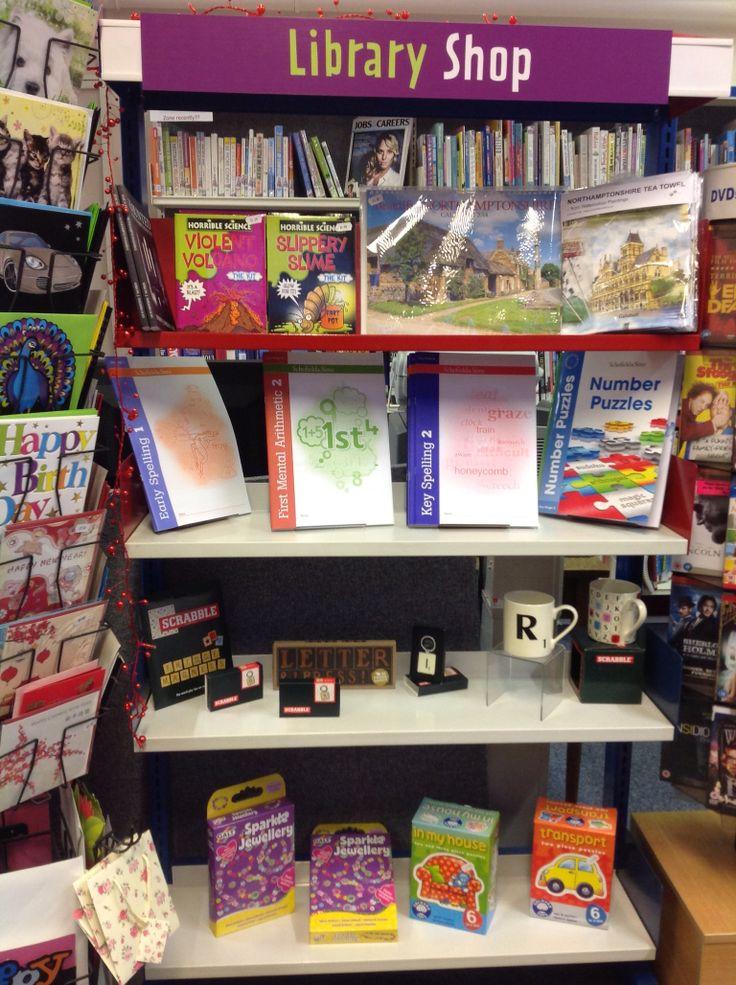 Moulton Library's shop.