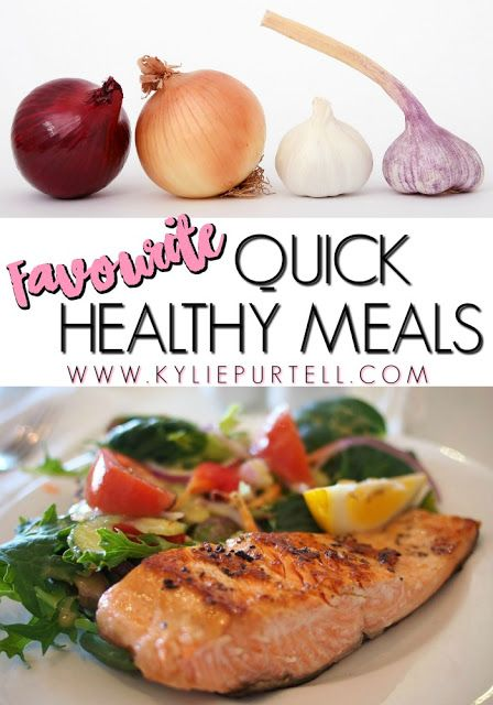 Favourite Quick Healthy Meals {for Lazy Girls} | Food | Kylie Purtell…