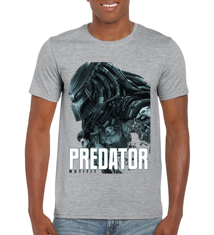 Predator t-shirts, Motivational movie tees, fitness motivational tops, cool graphic unisex tshirts by MOTIFIT on Etsy