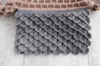 Learn how to crochet the crocodile stitch with this collection of free patterns