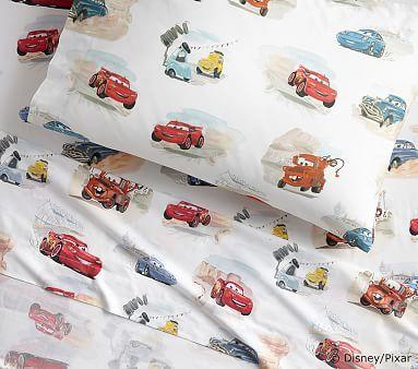 DisneyPixar Cars Toddler Sheet Set, Pillow Case, Multi