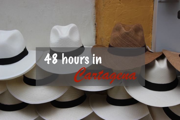 Cartagena is everyone's favorite destination in Colombia. Check out this 48-hour itinerary for cafe ideas, things to do, beaches, and bars!  #cartagena #48hourscartagena #colombia