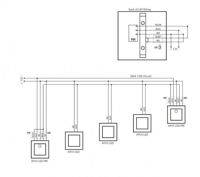 Set Led Treppenbeleuchtung Kaltweiss 6500k Inklusive Zwei Einheiten Mit Bewegungsmelder Und 15w Trafo In 2020 Led Treppenbeleuchtung Treppenbeleuchtung Led Trafo