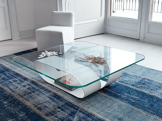 Another view on Ring coffee table #glass #coffeetable #design #Sovet