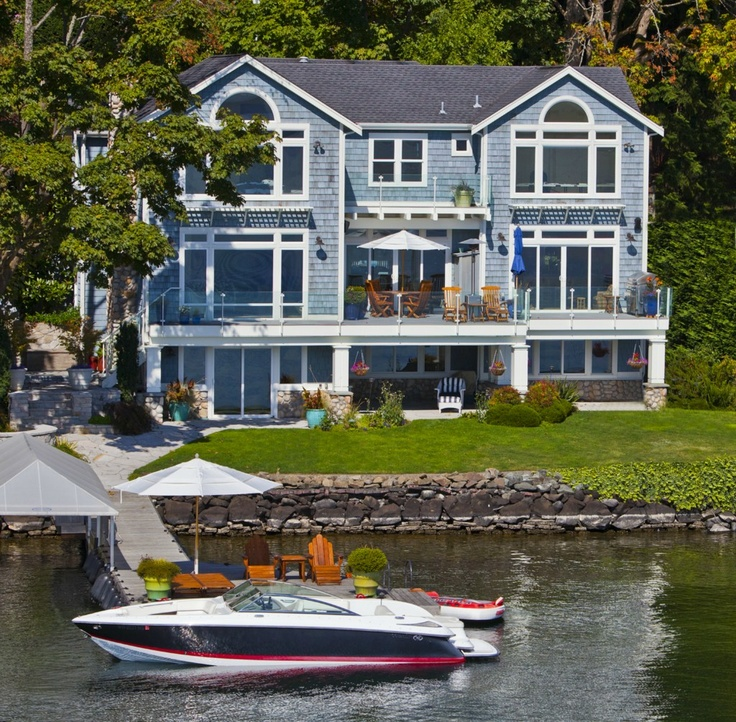 A Luxury Mansion L: 76 Best Images About Waterfront Homes LookBook On