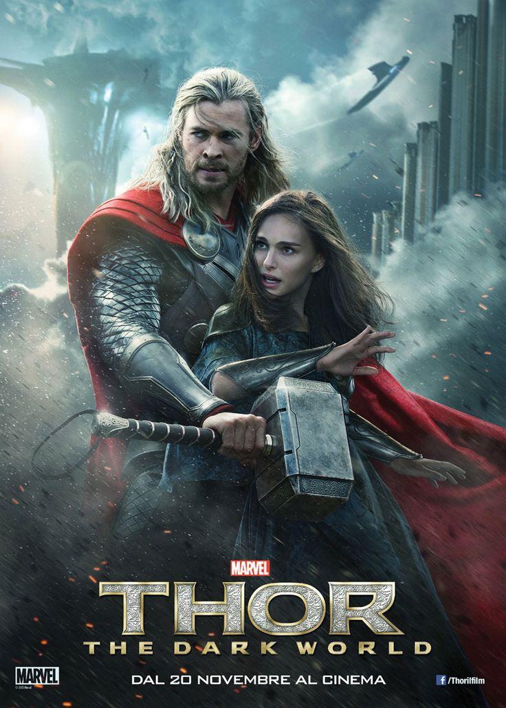 THOR: THE DARK WORLD Continuano le avventure di Thor, il più forte degli Avengers, che combatte per salvare la terra e tutti i Nove Regni da un oscuro nemico che vuole dominare l'universo. Thor deve intraprendere il viaggio più pericoloso della sua vita, che lo ricongiungerà con Jane Foster e lo obbligherà a sacrificare tutto per salvare l'universo intero. Guarda il trailer nella sezione Filmtrailer di Primoitalia da smartphone, iphone, tablet e smart tv. Quando vuoi tu, dove vuoi tu.