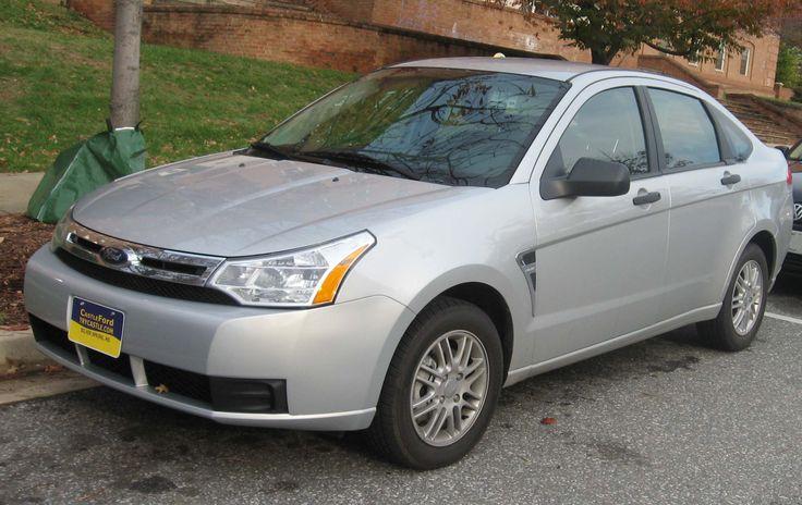 2008 Ford Focus US-spec 4-door sedan