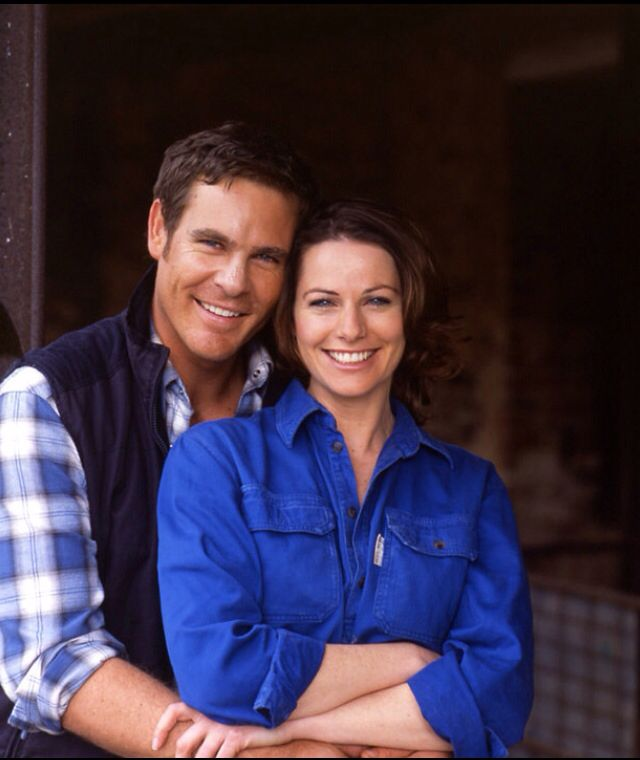 Alex and Claire, McLeod's Daughters. They were perfect together.