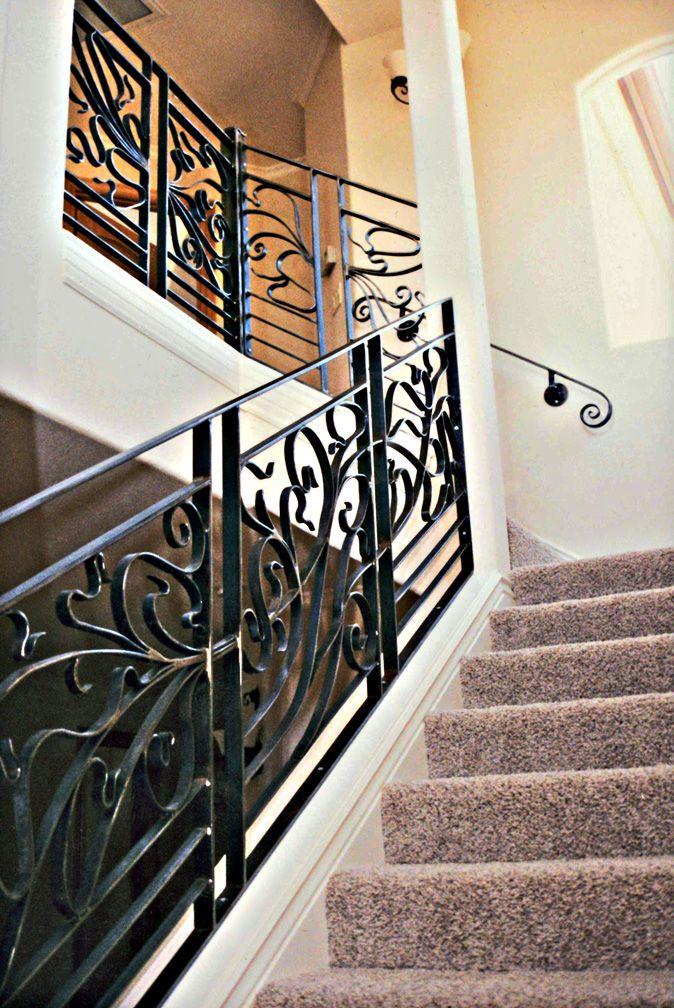 Art Nouveau Stairway Railing By Ou8nrtist2 Jpg 674 215 1008
