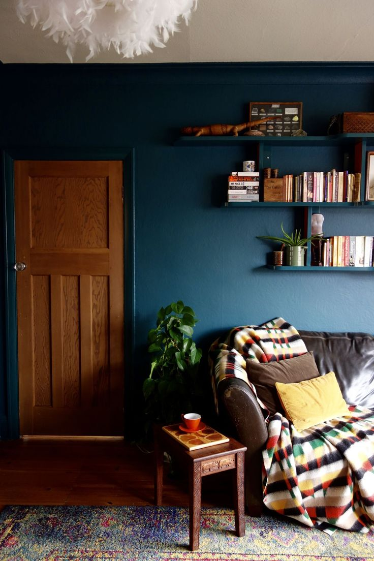 The 25+ best Blue living rooms ideas on Pinterest | Dark blue ...