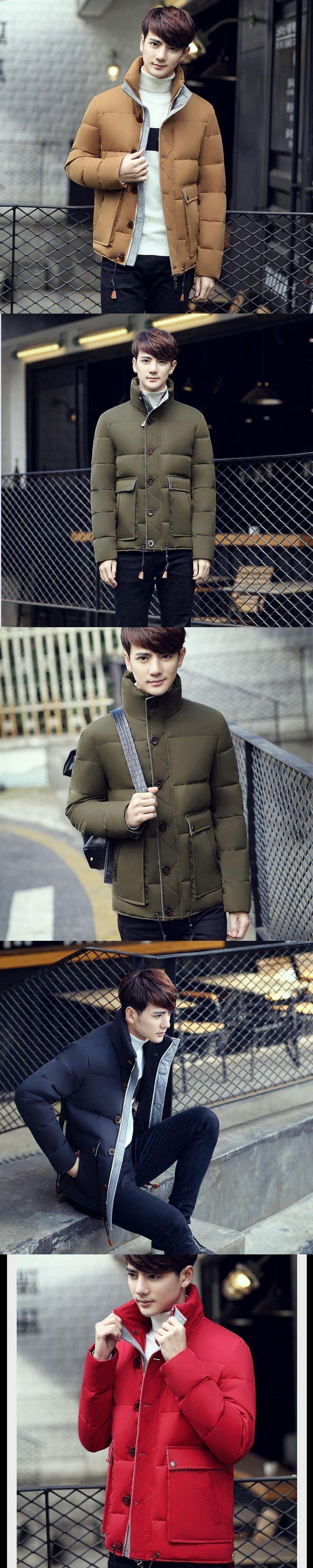 2016 New Winter Jacket Men Brand Men's Down Jackets Coat Winter Jackets Mens Thicken Warm Outwear For Men Streetwear Male Coat