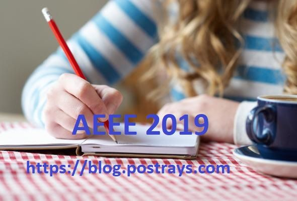 Aeee 2019 Application Eligibility Exam Dates Pattern