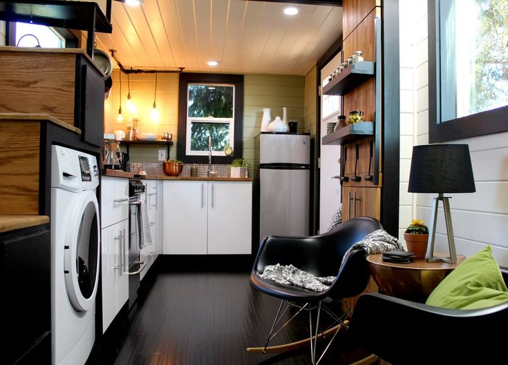 Swoon Over This Modern Tiny Home With A Rooftop Patio