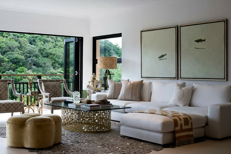 Michele Throssell Interiors > Lounge > Bringing The Outdoors In > Natural Textures > Calming White