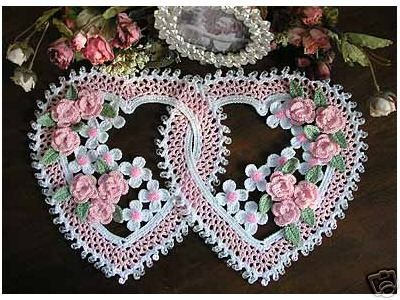 Entwined hearts tutorial