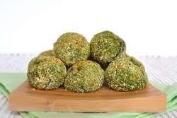 » Polpette di spinaci e ceci - Ricetta Polpette di spinaci e ceci di Misya