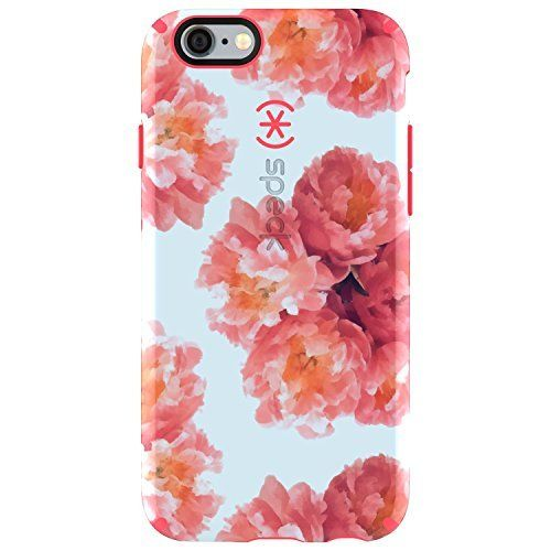 Speck Products CandyShell Inked Case for iPhone 6/6S - Retail Packaging - Tissue Floral Peach/Splash Pink, http://www.amazon.com/dp/B01E35SGJ4/ref=cm_sw_r_pi_awdm_djLvxbM9SD8F8