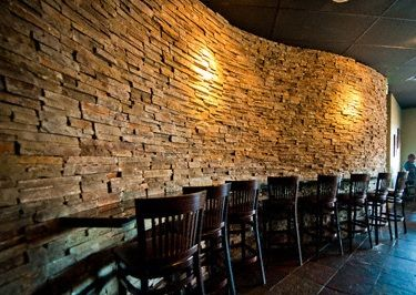 High Quality Creating This Gorgeous Curved Faux Stone Wall Is Far Simpler Than With The  Real Thing.
