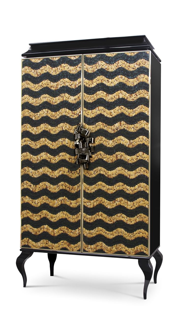 Divine Armoire By Koket #koket #casegoods #design #feathers #luxury #armoire