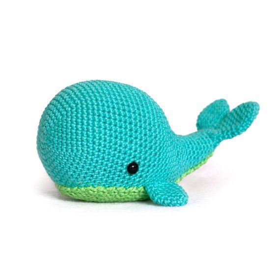 Crochet Pattern whale amigurumi PDF by DIYFluffies on Etsy