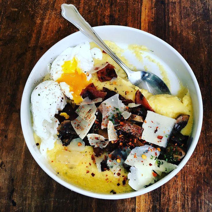 La polenta, nouvelle star du petit déjeuner