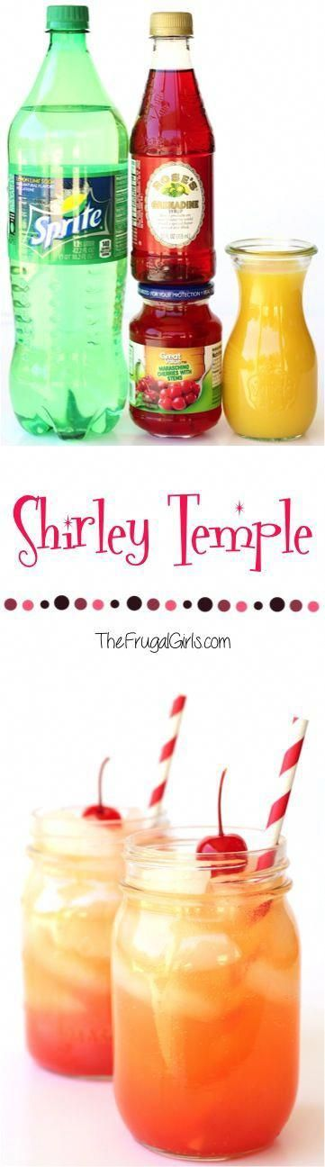 Shirley Temple Drink Recipe! ~ at TheFrugalGirls.com ~ add some fun nostalgia to…