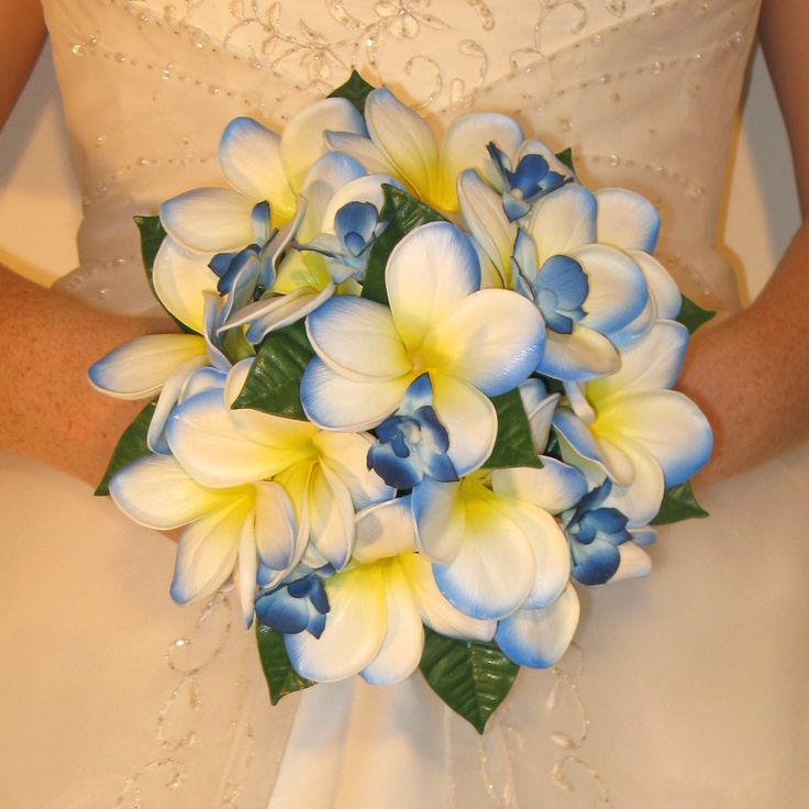 blue and yellow wedding boquets | Unique Wedding Bouquet Inspiration Part Deux! — The Excited Bride ...