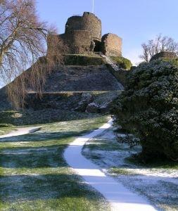 Launceston Castle, Cornwall, circa 1067
