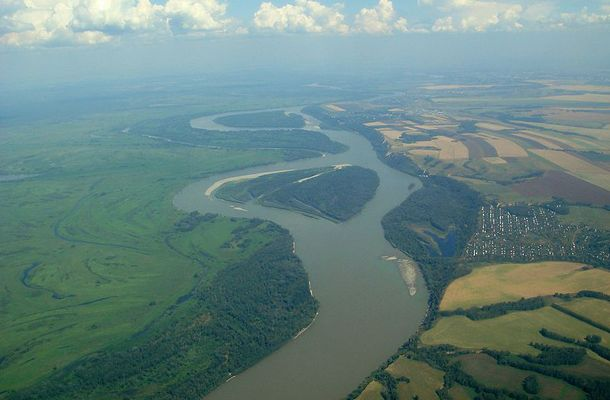 The Ob River, also Obi, is a major river in western Siberia, Russia and is the world's seventh longest river. It is the westernmost of the three great Siberian rivers that flow into the Arctic Ocean (the other two being the Yenisei River and the Lena River).