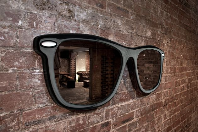 Giant Sunglasses Mirror - Take My Paycheck | The coolest gadgets, electronics, geeky stuff, and more!